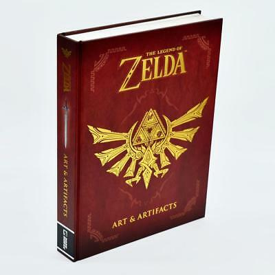 The Legend of Zelda: Art & Artifacts Hardcover Book [Free Shipping]