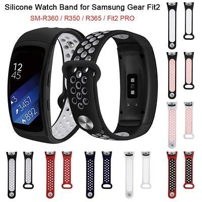Silicone Fitness Replacement Band Wrist Strap Bracelet For Samsung Gear Fit 2