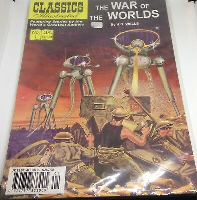 Classics Illustrated - War Of The Worlds - comic book - Fine