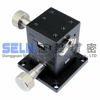 NEW XY-axis 40X40mm dovetail linear stage long-range LWY4040 manual table