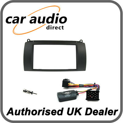 Connects2 CTKRO01 Rover 75 2000> Black Double DIN Installation Kit