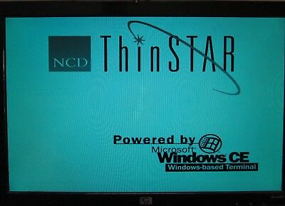 Vintage NCD ThinStar 200 Windows CE Based Thin Client Desktop Terminal