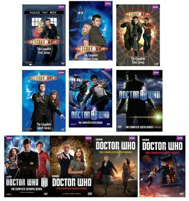 DOCTOR WHO: The Complete Series Season 1-10 (DVD 2017, 55-Disc Box Set)new
