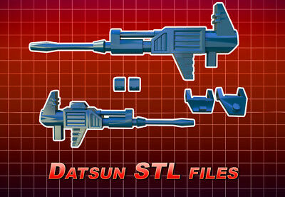Transformers STL file for CW Ultra Magnus weapons