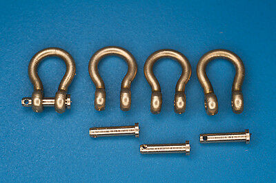 Shackles (4 pcs) used in different military vehicles - RB Model 103 96 1/35
