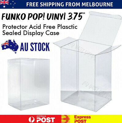 "Funko Pop! Vinyl 3.75"" Protector Acid Free Plastic Sealed Display Case"