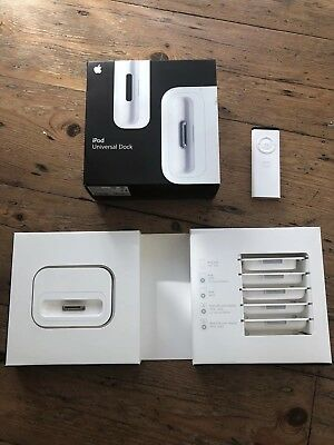 Apple iPod Universal Dock And Remote