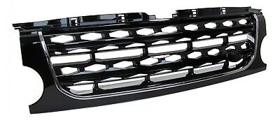 Front Grille Facelift Discovery 3 Black Chrome Disco 4 2014 Land Rover