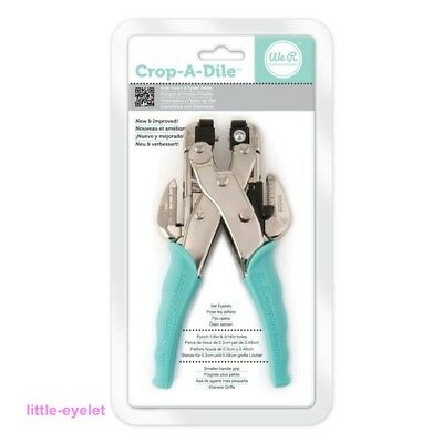 WRMK Crop a Dile Eyelet and Snap Puncher Teal - Eyelet-Setter