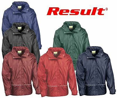 Result Childrens Junior Youth Waterproof 2000 Pro-Coach Jacket Zipped Outerwear