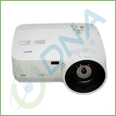 NEC NP610s LCD digital projector - 591 lamp hours used - Grade B