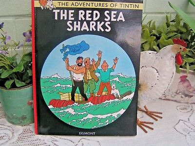The Red Sea Sharks (The Adventures of Tintin) New Paperback Book Herge  V.G.Cond