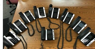 Polycom VVX 500 WW PoE Business Media Phone - LOT of 9 Available