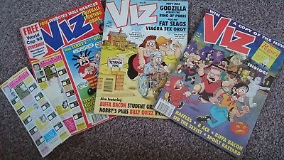 Viz Comic - Issue 90 Issue 91 & Issue 92 (1998) - Not For Sale To Children!