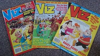 Viz Comic - Issue 84 Issue 85 & Issue 86 (1997) - Not For Sale To Children!