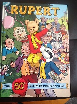 Rupert The Bear 1985 The 50th Daily Express AnnuaL H/B 1985