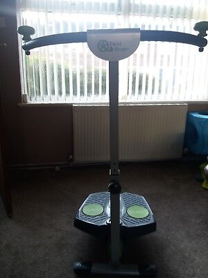 Exercise Machine Twist and Shape Cardio Fitness Full Body Excellent cond