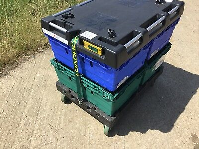 Bale Arm Plastic  Crate  Trolley Lid With Dolly