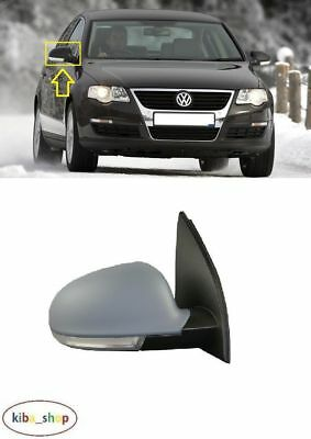 VW JETTA 2010-2018 NEW WING MIRROR ELECTRIC 6PIN PRIMED LEFT N//S LHD