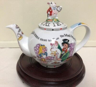 Alice in Wonderland Tea Pot 150th Anniversary Edition Paul Cardew Design England