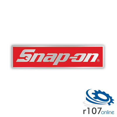 3 x Genuine Snap On Tool Box Decal, Reflective Logo, 4.75""