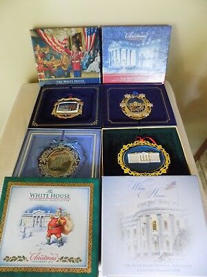 Lot 4 The White House Historical Association Christmas Ornaments Incl 2004 2011