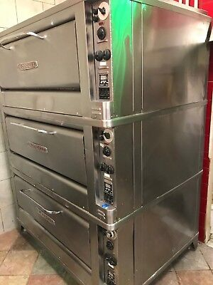 Blodgett Electric Triple Stack commercial pizza oven.