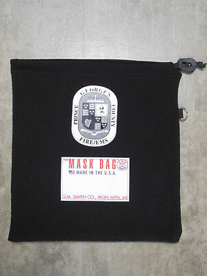 S.M. Smith Co. SCBA Mask Bag, MB1-100PG with Prince George's County Silkscreen.
