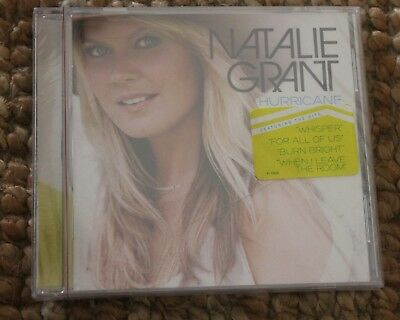"Awesome NEW Natalie Grant ""Hurricane"" NEW CD"
