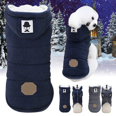 Casual Pets Dogs Puppy Clothes Winter Warm Coats Sweater Jacket Hoodie Apparel