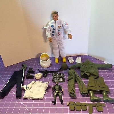 Vintage GI Joe ASTRONAUT Mercury Apollo 13 XIII NASA RARE FREE SHIPPING