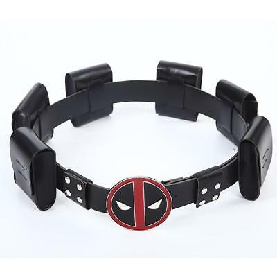 Deadpool Belt Cosplay Costume Accessory Accessories Mens