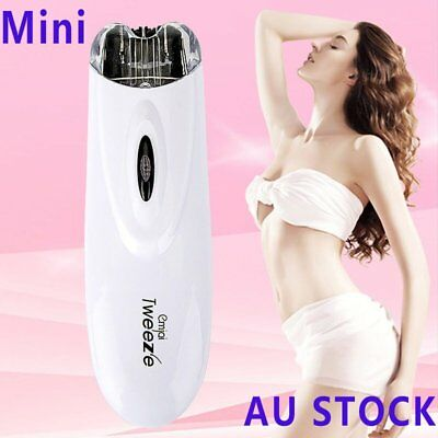 potable Electric Pull Tweeze Device Women Hair Removal Epilator Facial Trimmer