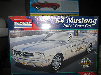 Are Hard To Fined Factory Sealed  1964 Ford Mustang Indy 500 Pace Car