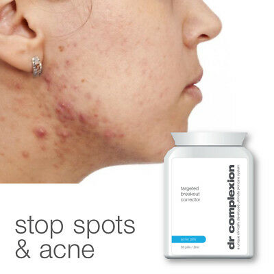 Dr Complexion Targeted Breakout Corrector Acne Pills Stop Spots Cystic Acne