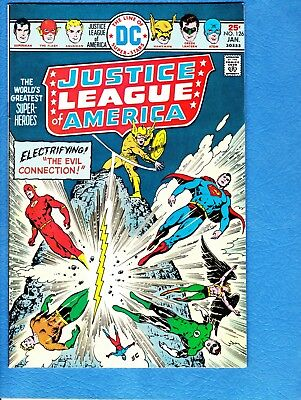 Justice League of America #126, 1976,NM- 9.2, Two-Face appears