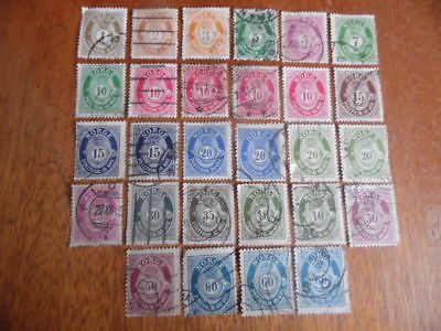 nickstampshop ~~Norway ~ Mixed Used ~ Lot 4