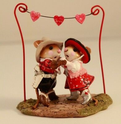 Wee Forest Folk Valentine's Hoe Down M-312a
