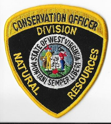 State of West Virginia Division of Natural Resources Conservation Officer Patch