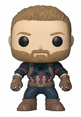 Funko Pop Marvel Avengers Infinity War - Captain America Collectible Figure