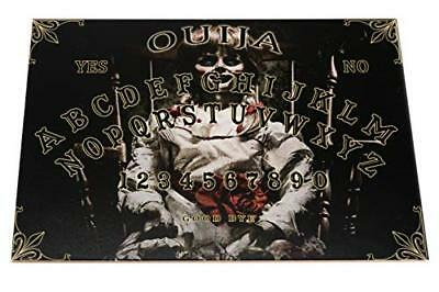 Annabelle style Wooden Ouija Spirit Board game with Planchette and detailed inst