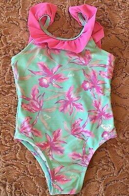 Roxy Baby Girl Swimmers One Piece Size 2