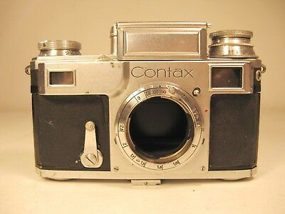 Zeiss Ikon Contax Camera AS IS, Missing Lens (# J68381)