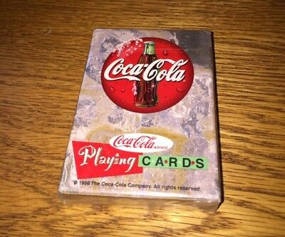 ~ Vintage Coca-Cola Playing Cards ~    ***unopened***1998