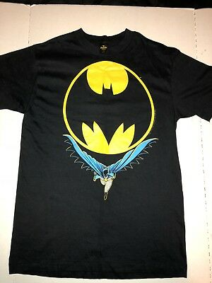 Real Vintage DC COMIC BATMAN T-shirt 1988 Very Good Condition / Large