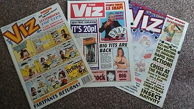 Viz Comic - Issue 67 Issue 68 & Issue 69 (1994-1995) - Not For Sale To Children!