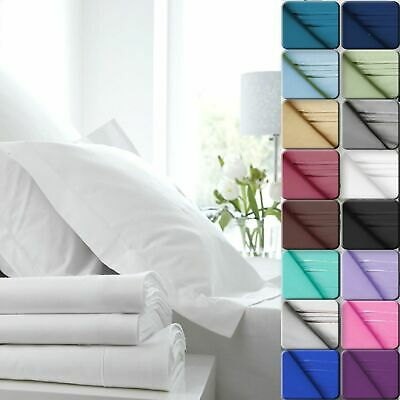 Egyptian Comfort 1800 Count Color Sheets Deep Pocket 4 Piece Bed Sheet Set