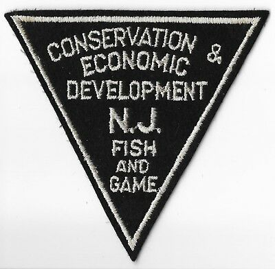 New Jersey Fish & Game Conservation & Economic Development Patch