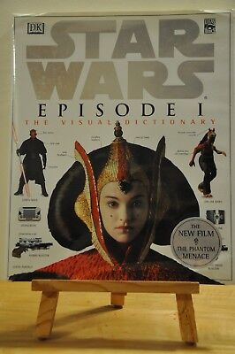 Star Wars Books: Mania & Episode 1 The Visual Dictionary