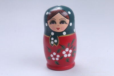 Nesting Doll Russian Doll Matryoshka Hand Painted Moscow Traditional bb563